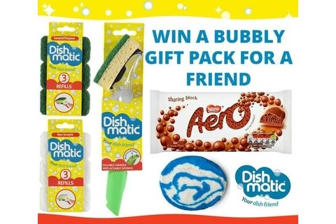 Win a Dishmatic Bubbly Gift Pack for a Friend