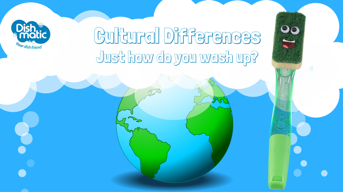 Cultural Differences : Just how do you wash up?