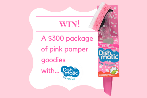 Go Pretty-In-Pink with Dishmatic  & win a bundle of goodies worth $300!