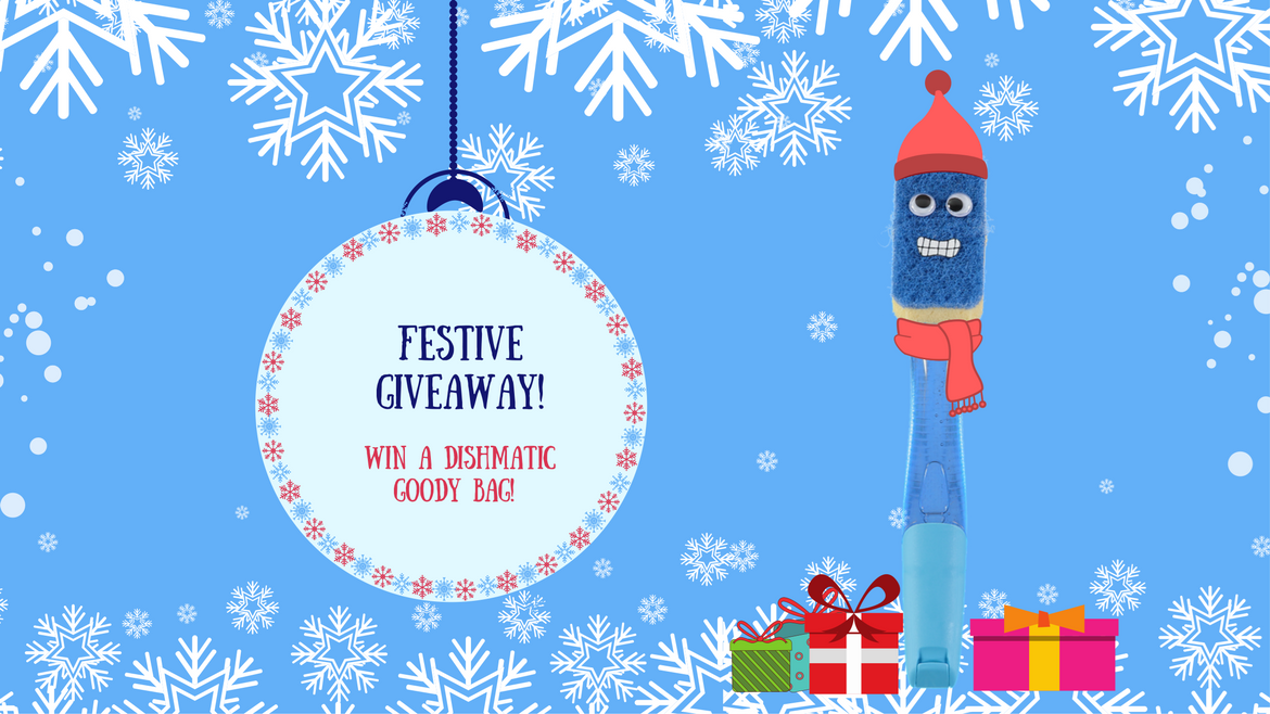 WIN a bundle of Dishmatic cleaning essentials in this festive giveaway!
