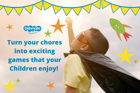 7 Chores that the kids actually find fun!