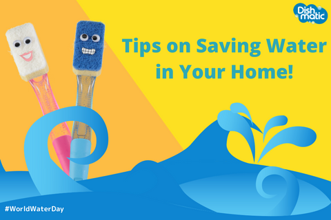 7 secrets to saving water at home!