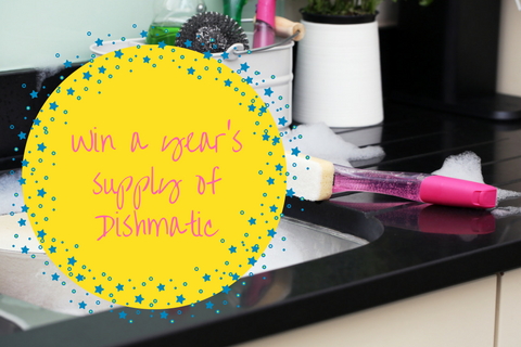 Win a year's supply of Dishmatic!