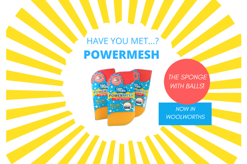 POWERMESH Launches in Woolworths