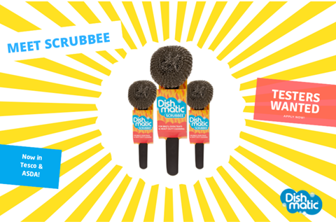 We're on the lookout for Scrubbee testers in the UK!