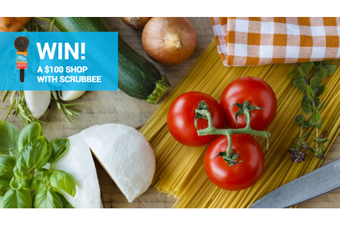 WIN a $100 supermarket voucher with Scrubbee!