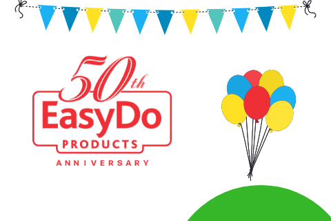 Celebrating EasyDo's 50 years of cleaning bliss