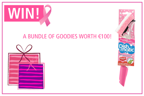 Win pink goodies worth €100 in Ireland