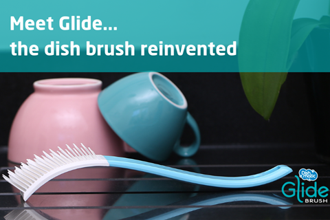 Glide: the dish brush reinvented!