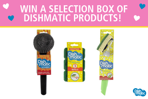 Australia: Win a trio of Dishmatic cleaning goodies!