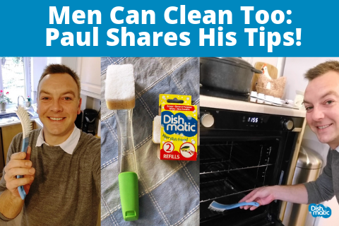 Q&A with cleaning blogger Paul Hunt AKA Men Can Clean Too