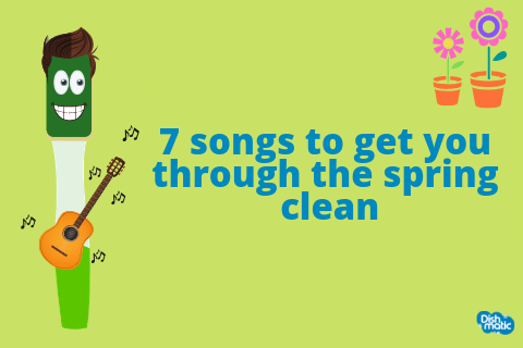 7 songs to get you through the spring clean