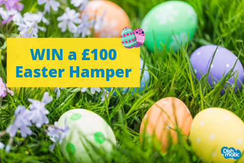 WIN an Easter Hamper with Dishmatic (UK & Ireland residents only)