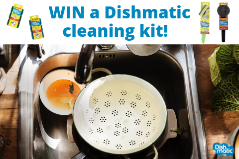 Australia: WIN a cleaning bumper kit with Dishmatic
