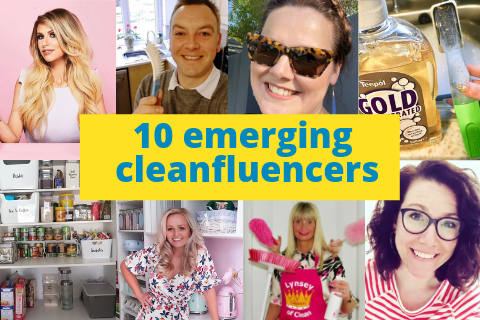10 emerging cleaning influencers to look out for!
