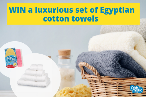 International Bath Day: WIN a luxurious Egyptian bath towel set worth £100! (UK & Ireland)