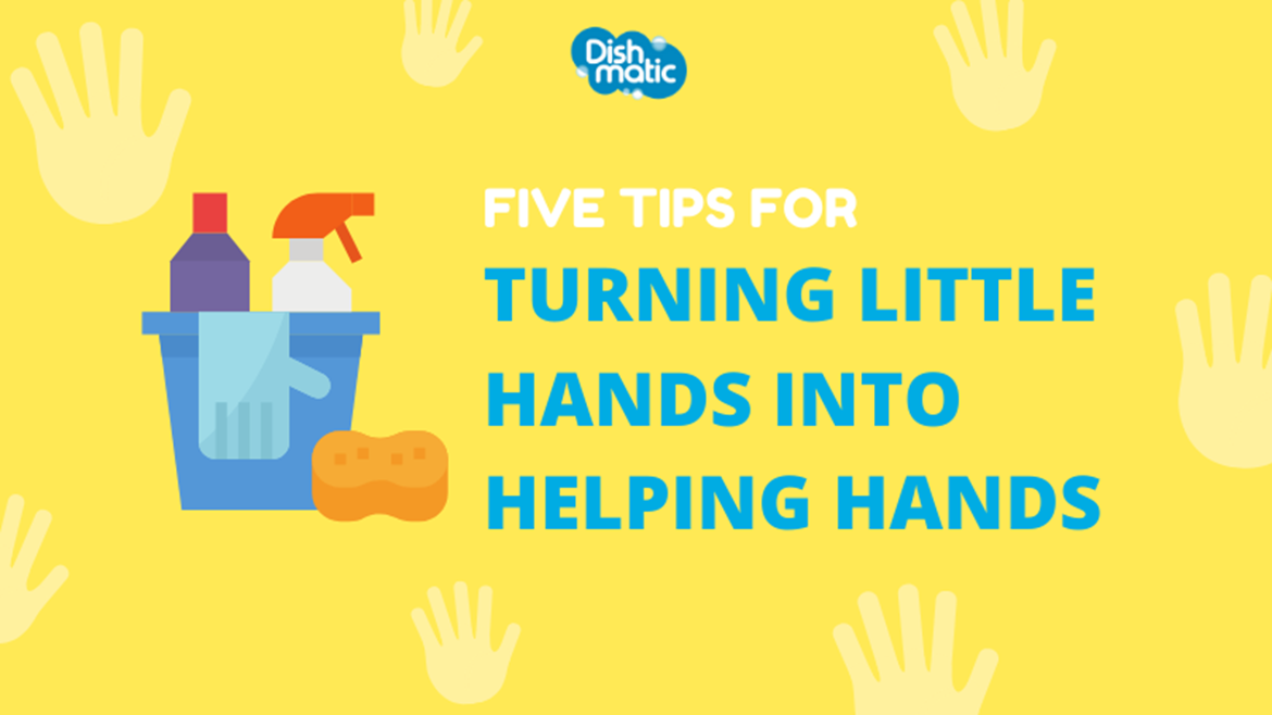 Little hands make light work – getting children involved in cleaning